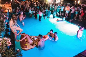 the rooftop club at gianpula clubbing complex and village